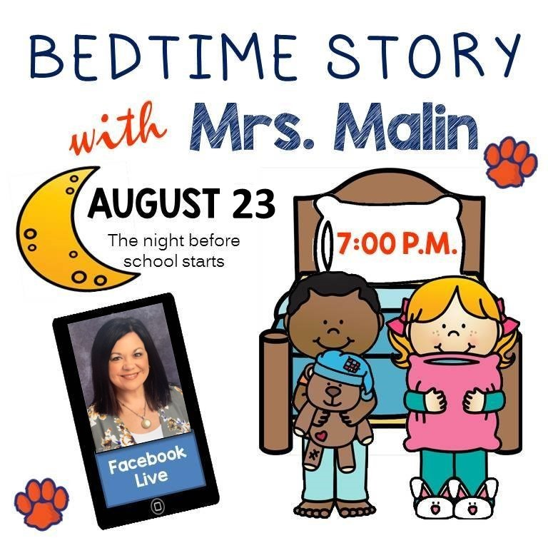 Bedtime story with Mrs. Malin
