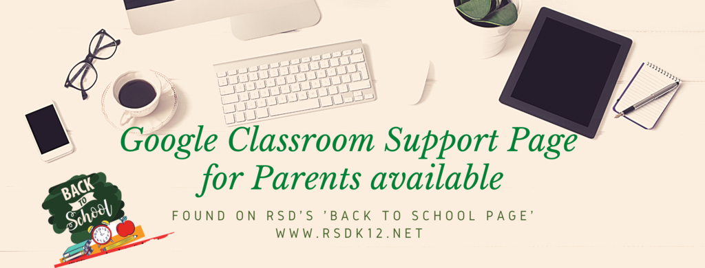 Google Classroom Parent Support