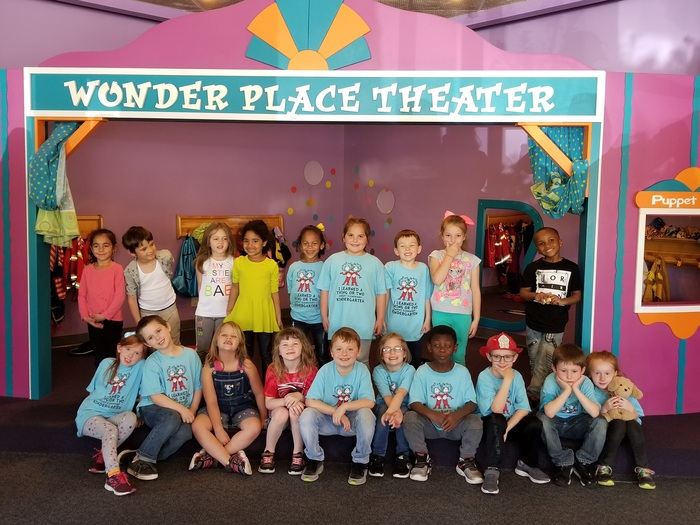 Picture of Kindergarteners at Wonder Place