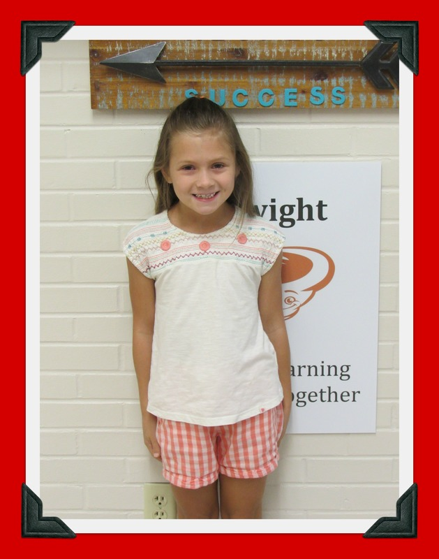 Second Grade Student of the Month: Joslin