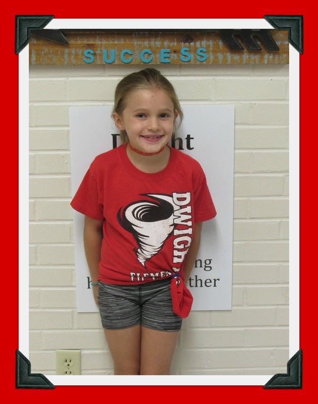 Second Grade Student of the Month: Iwalani