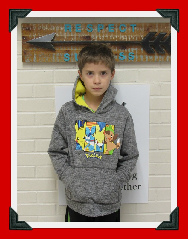 Third Grade Student of the Month