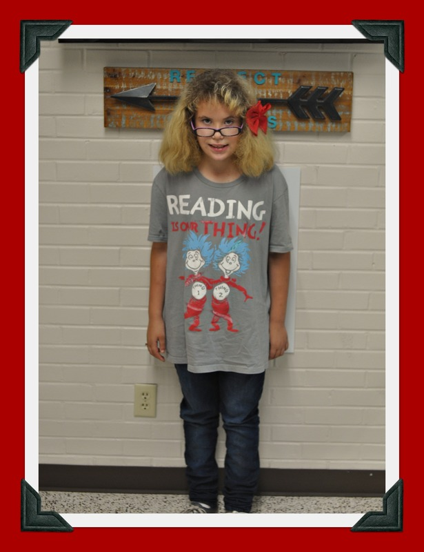 Mrs. McCurrie's Class Student of the Month: Jayla