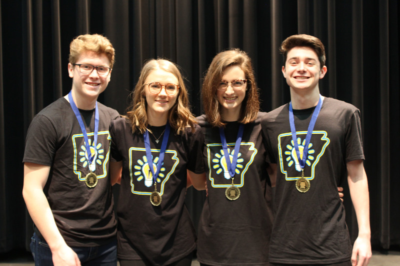 RHS Theatre Troupe individual event Superior winners